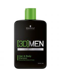 Schwarzkopf 3DMen Hair & Body Shampoo