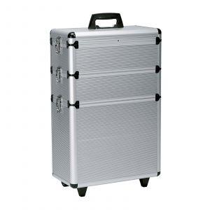 Sibel - Aluminium Friseurkoffer - 65x43x22 cm