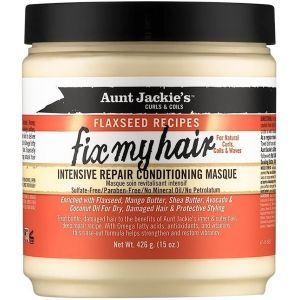 Aunt Jackie's - Flaxseed - Fix My Hair Masque - 426 gr