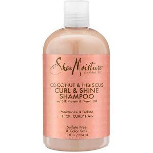 Shea Moisture - Coconut & Hibiscus Shampoo - 384 ml