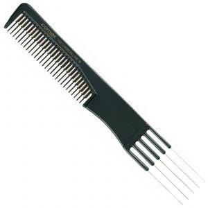 Comair - Carbon Profi Line - Nr. 102 - Toupier-Gabelkamm - 19,5 cm