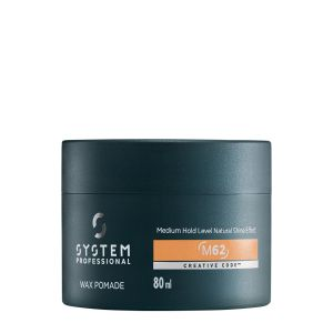 System Professional - System Man - Wax Pomade M62 - 80 ml