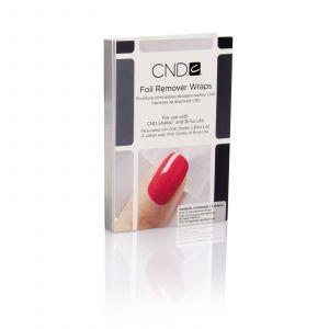 CND - Colour - Shellac - Foil Remover Wraps - 10 pak