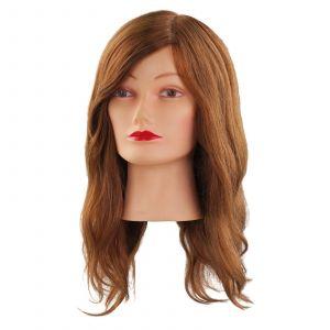 Comair - Oefenhoofd Mia - 40 cm - Menselijk Haar