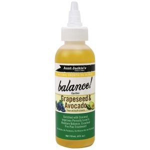 Aunt Jackie's - Balance - Growth Oil - Grapeseed & Avocado - 118 ml