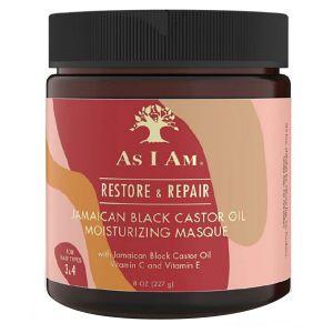 As I Am - Jamaican Black Castor Oil Moisturizing Mask - 227 gr