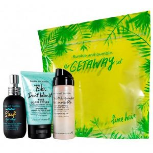 Bumble - The Getaway Set - Fine Hair (Incl.Surf Spray 50ml + Don't Blow It Fine 60ml + Prêt-à-Powder Très Invisible Dry Shampoo 40ml)