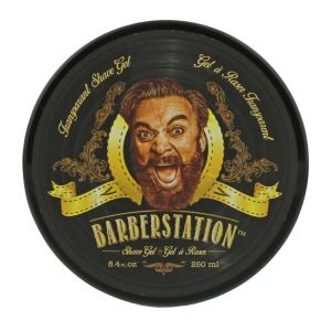 Barberstation - Transparentes Rasiergel  - 250 ml