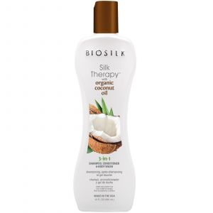 Biosilk Silk Therapy Coconut Oil 3-In-1