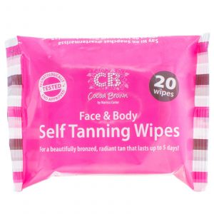 Cocoa Brown - Self Tanning Wipes - 20 Wipes