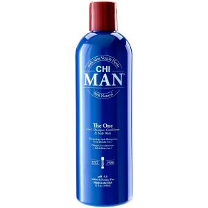Chi Man - The One - 3 In 1 Shampoo, Conditioner & Body Wash