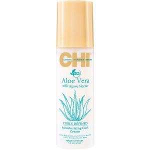 CHI - Aloe Vera with Agave Nectar - Moisturizing Curl Cream - 147 ml