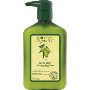 CHI Olive Organics Hair & Body Shampoo Body Wash