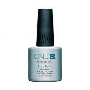 CND - Enhancements - Brisa - White Gel Paint - 12 ml