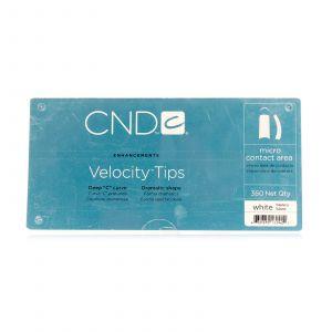 CND - Brisa Sculpting Gel - Velocity Clear Tips - 360 Stuks