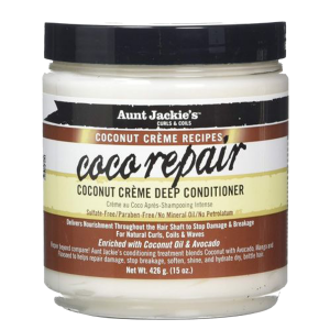Aunt Jackie's - Coco Repair - Coconut Creme Deep Conditioner - 426 gr