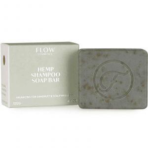 Flow Cosmetics -Biologische Shampoo Bar - Hemp - 120 gr