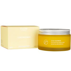 Flow - Coco Lemon Aromatherapy Body Polish - 200 ml