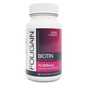 Foligain - Biotine Supplement - 60 capsules