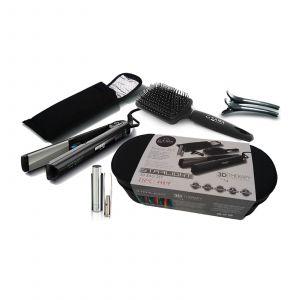 GA.MA - Beauty Set (Starlight 3-D Therapy Ion Plus Glätteisen + Zubehör)