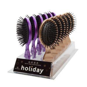 Olivia Garden - Holiday Display Gold & Purple - 12 stuks