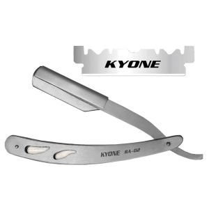 KYONE - Promoset Barber Razor - RA-02 + 3x SE-100 Single Blade