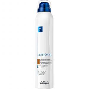 L'Oréal - Serioxyl - Volumising Coloured Spray - Light Brown - 200 ml