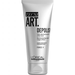 L'Oréal - TecniArt - Depolish 4 - Destructuring Paste Rough Effect - 100 ml