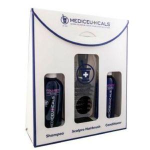 Mediceuticals - Set 2 Saturate + Vitatin + Scalpro Brush