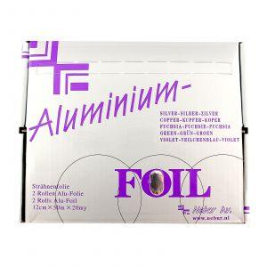 Nebur - Aluminium Folie - 50m x 12cm x 20my - 2 Rollen