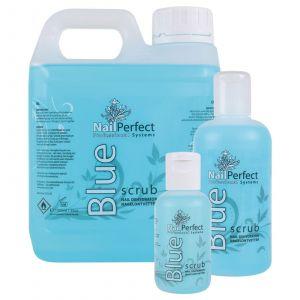 Nail Perfect Blue Scrub