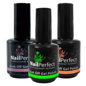 Nail Perfect Soak Off Gel Polish 15 ml