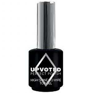 Upvoted - Perfect Polish - High Shine No Wipe Topcoat - 15 ml