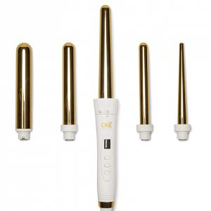 Ogé Exclusive - 5-in-1 Lockenstäbe Set - Gold Edition