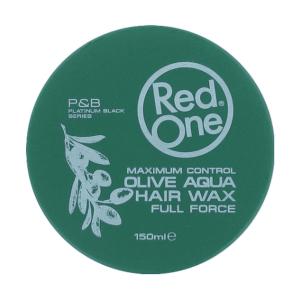Red One - Green Olive - Aqua Hair Wax - Full Force - 150 ml