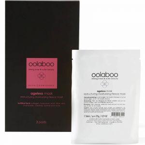 Oolaboo - Ageless - Mask - Restructuring Moisturizing Fleece Mask - 3 Pads