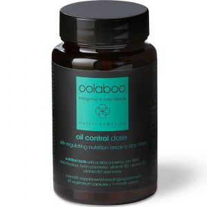 Oolaboo - Oil Control - Dose - Skin Regulating Nutrition Once a Day Dose - 30 Capsules