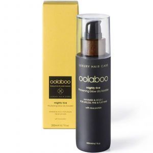 Oolaboo - Mighty Rice - Thickening Blow Dry Booster - 200 ml