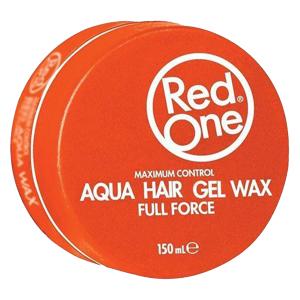 Red One - Orange - Aqua Hair Gel Wax - Full Force - 150 ml