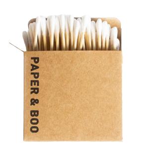 Paper & Boo - Bamboe Wattenstaafjes - 100 Stuks