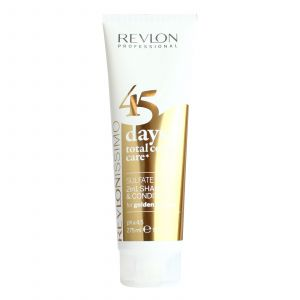 Revlon - 45 Days Color - 2 in 1 Shampoo & Conditioner - Golden Blondes - 275 ml
