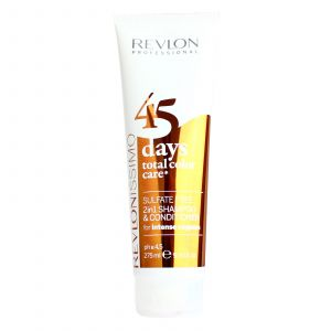 Revlon - 45 Days Color - 2 in 1 Shampoo & Conditioner - Intense Coppers - 275 ml