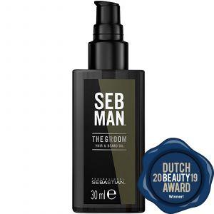 SEB Man - The Groom - Hair & Beard Oil - 30 ml