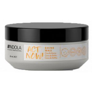 Indola - Act Now! - Shine Wax - 85 ml
