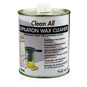 Sibel - Clean All - Depilation Wax Cleaner - 800 ml