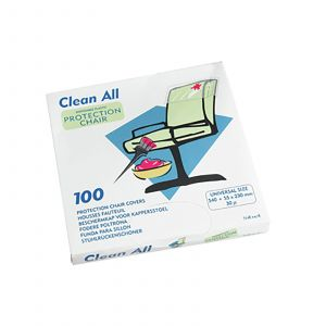 Sibel - Clean All - Stoelbeschermers Wegwerp Plastic - 100 Stuks