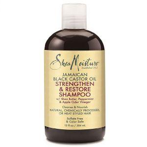 Shea Moisture - Jamaican Black Oil Restore Shampoo - 384 ml