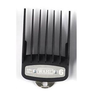 Wahl - Opzetkam Type 1 Premium Plastic Met Metalen Clip - Nr. 6