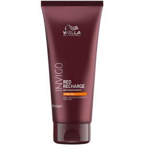 Wella - Invigo - Red Recharge - Warm Red Conditioner - 200 ml