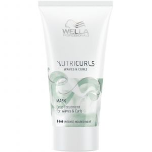Wella - Nutricurls - Mask - Deep Treatment for Waves & Curls - 30 ml (Mini Reisverpakking)